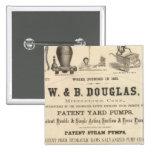 W y B Douglas Pin Cuadrado