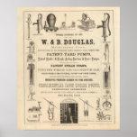 W y B Douglas Posters