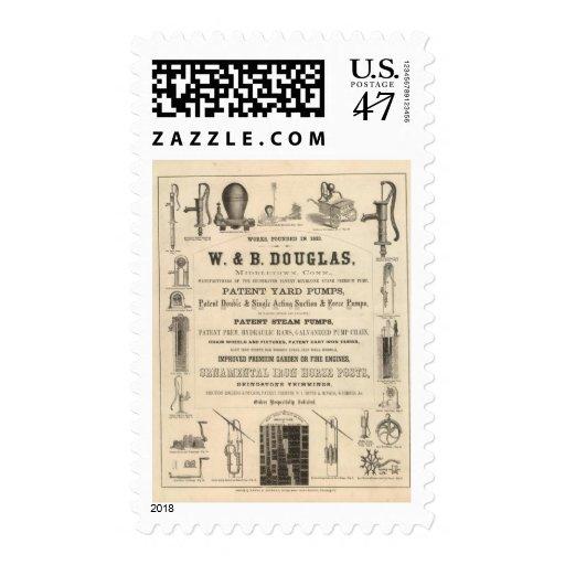 W y B Douglas Sello Postal