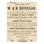 W y B Douglas Tarjeta Postal