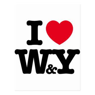 W&Y POSTCARD