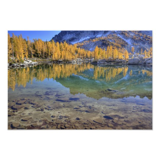 WA, Alpine Lakes Wilderness, Enchantment 3 Photo Print