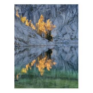 WA, Alpine Lakes Wilderness, Enchantment 3 Postcard