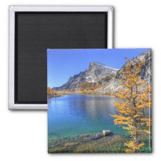 WA Alpine Lakes Wilderness Enchantment 4 Fridge Magnets
