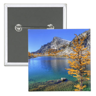 WA, Alpine Lakes Wilderness, Enchantment 4 Pinback Button