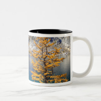 WA, Alpine Lakes Wilderness, Enchantment 4 Two-Tone Coffee Mug