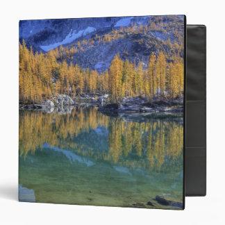 WA, Alpine Lakes Wilderness, Enchantment 5 3 Ring Binder