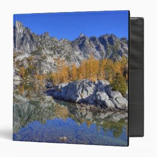 WA, Alpine Lakes Wilderness, Enchantment 7 3 Ring Binder