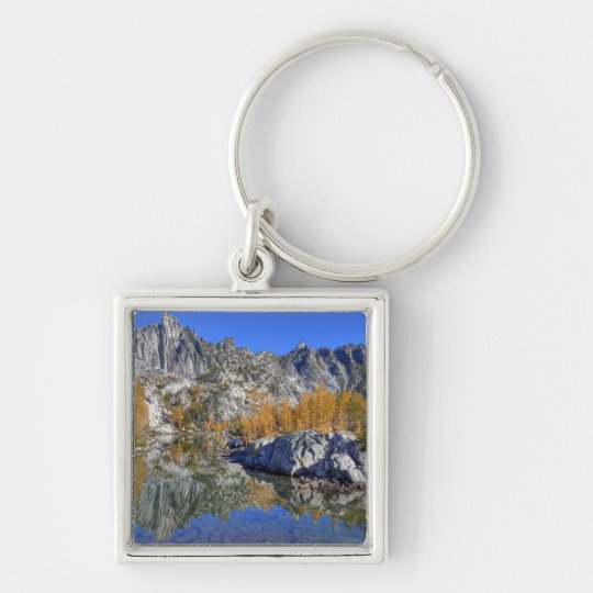 WA, Alpine Lakes Wilderness, Enchantment 7 Keychain