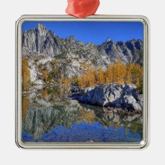WA, Alpine Lakes Wilderness, Enchantment 7 Metal Ornament