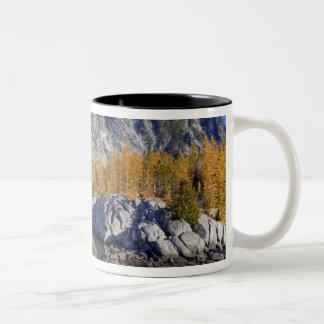 WA, Alpine Lakes Wilderness, Enchantment 7 Two-Tone Coffee Mug