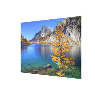 WA, Alpine Lakes Wilderness, Enchantment Canvas Print