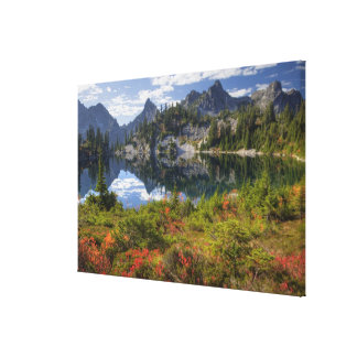 WA, Alpine Lakes Wilderness, Gem Lake, with 2 Canvas Print