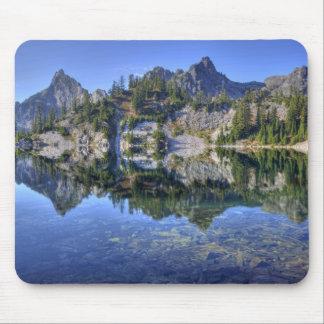 WA, Alpine Lakes Wilderness, Gem Lake, with 2 Mouse Pad