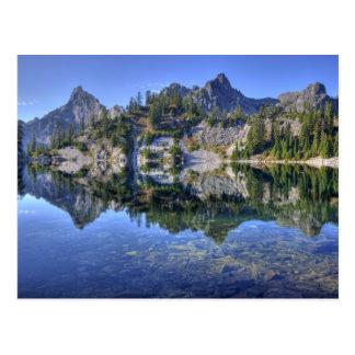 WA, Alpine Lakes Wilderness, Gem Lake, with 2 Postcard
