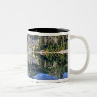 WA, Alpine Lakes Wilderness, Gem Lake, with 2 Two-Tone Coffee Mug