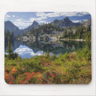 WA, Alpine Lakes Wilderness, Gem Lake, with Mouse Pad