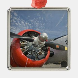 WA, Arlington, Arlington Fly-in, World War II 7 Metal Ornament