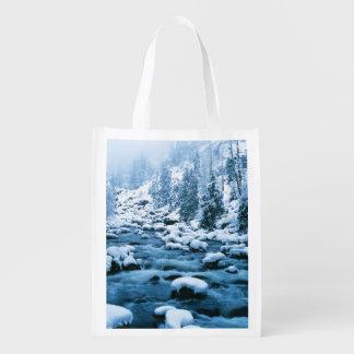 WA, bosque del Estado de Wenatchee, cascada Bolsa Para La Compra