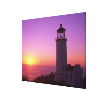 WA, Cape Disappointment State Park, North Head 2 Canvas Print