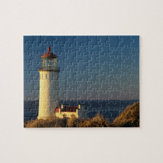 WA, Cape Disappointment State Park, North Head Jigsaw Puzzle