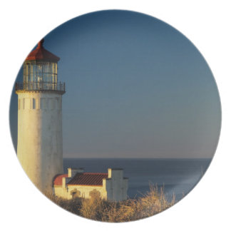 WA, Cape Disappointment State Park, North Head Melamine Plate