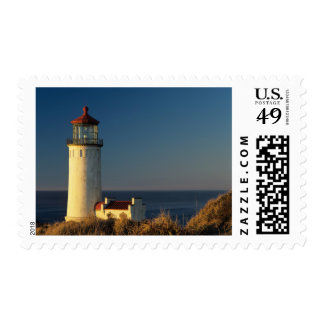 WA, Cape Disappointment State Park, North Head Postage Stamp