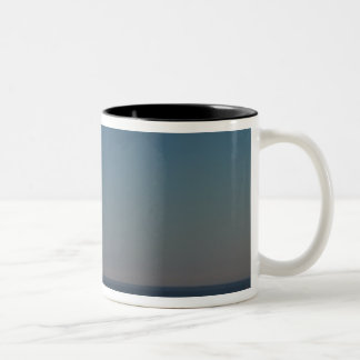 WA, Cape Disappointment State Park, North Head Two-Tone Coffee Mug