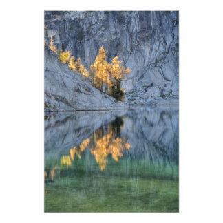 WA, desierto alpino de los lagos, encantamiento 5 Impresiones Fotograficas