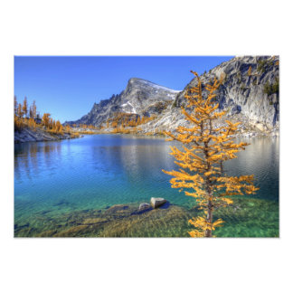 WA desierto alpino de los lagos encantamiento Fotografías