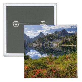 WA, desierto alpino de los lagos, lago gem, con Pin Cuadrado