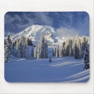 WA, el Monte Rainier NP, el Monte Rainier y paraís Alfombrillas De Raton