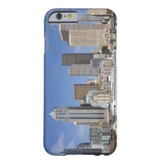 WA, horizonte de Seattle, Seattle con el Funda De iPhone 6 Barely There
