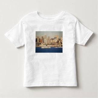 WA, horizonte de Seattle, Seattle y Elliott aúllan Camisas
