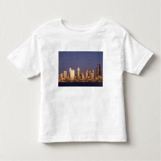 WA, horizonte de Seattle, Seattle y Elliott Playera De Niño