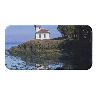 WA, isla de San Juan, faro del horno de cal iPhone 4 Cárcasa