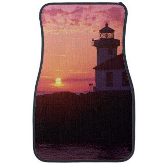 WA, isla de San Juan, horno de cal Lighthouse, 191 Alfombrilla De Auto