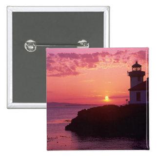 WA, isla de San Juan, horno de cal Lighthouse, 191 Pin Cuadrado