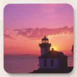 WA, isla de San Juan, horno de cal Lighthouse, 191 Posavasos De Bebida