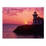 WA, isla de San Juan, horno de cal Lighthouse, 191 Tarjetas Postales