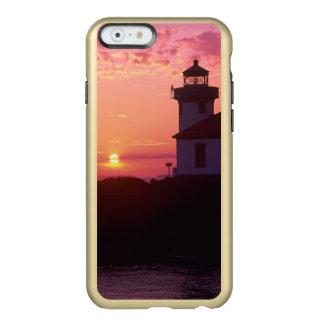 WA, isla de San Juan, horno de cal Lighthouse, Funda Para iPhone 6 Plus Incipio Feather Shine
