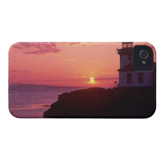 WA, isla de San Juan, horno de cal Lighthouse, iPhone 4 Carcasa
