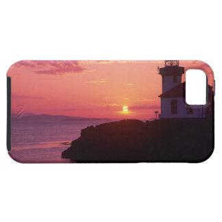 WA, isla de San Juan, horno de cal Lighthouse, iPhone 5 Fundas