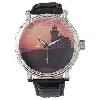 WA, isla de San Juan, horno de cal Lighthouse, Relojes De Mano