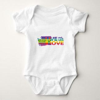 WA Live Let Love Baby Bodysuit