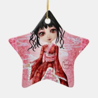 Wa lolita ceramic ornament