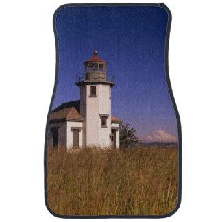 WA, Maury Island, Point Robinson Lighthouse, Car Floor Mat
