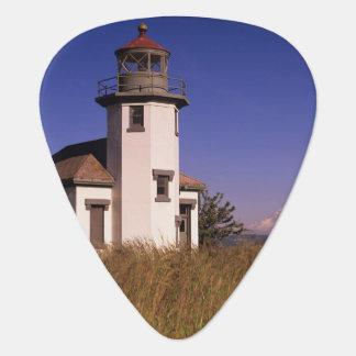 WA, Maury Island, Point Robinson Lighthouse, Guitar Pick