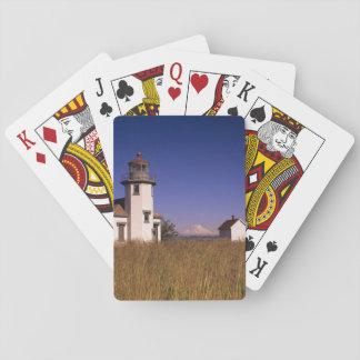 WA, Maury Island, Point Robinson Lighthouse, Playing Cards