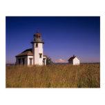 WA, Maury Island, Point Robinson Lighthouse, Postcard